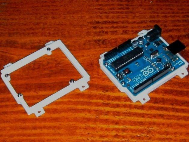 Arduino uno mount by sceadu design thingiverse
