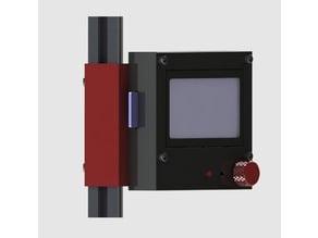 RepRapDiscount Full Graphic Smart Controller Mount 2020 Delta Kossel Printer