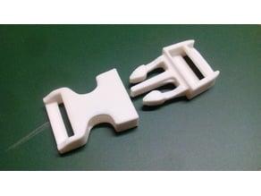 Plastic buckles for 20mm straps | Plastikschnallen für 20mm Gurte