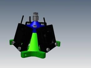 Trigobot Bowden Extruder with J-Head