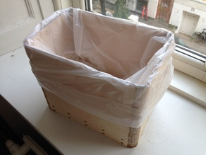 Diaper bin