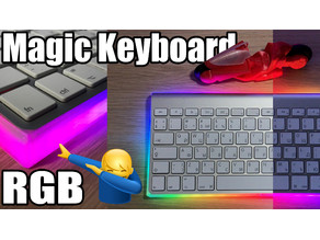 RGB Apple Magic Keyboard