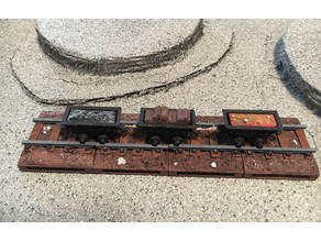 Miniature Dungeon Train Track