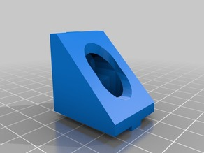 1010 Extrusion T-Slot Simple 90 Degree