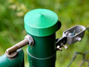 Garden post cap