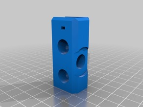 Prusa i3 Einstein Y-axis corners for 10mm smooth rods and higher-profile M10 washers and nuts