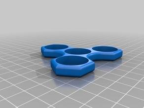 Hexagon Tri Fidget Spinner