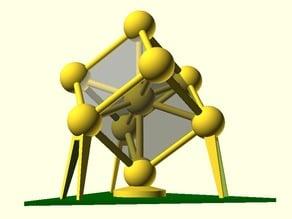 Parametric Atomium Model