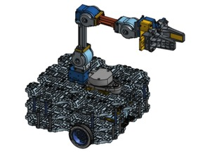 ROBOTIS TurtleBot Waffle Pi with OpenManipulator Chain