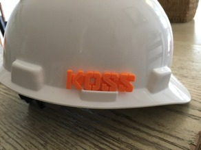 Customizable Hard Hat Inserts