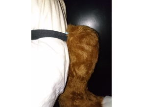 furry tail belt attachment