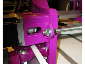 Root 3 CNC NEMA 23 Spacer with Tab