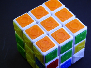 Rubiks cube for visually impaired