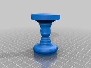 2-profile rotated shape / vase / candleholder etc.