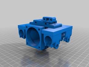 EZ3D Single Extruder Design