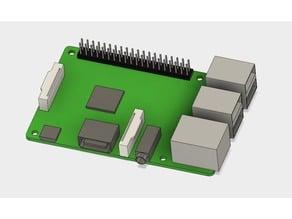 Raspberry Pi 3 Model B - Simple Model