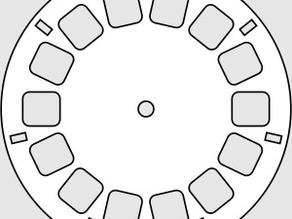 Custom View-Master Disc
