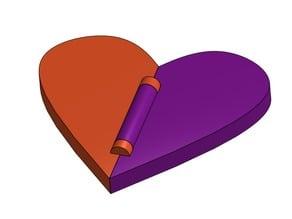 Foldable Valentine