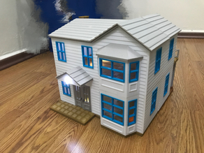 Doll House, 400x380mm