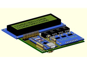 Openscad electronic project sample board