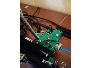 Ultimate creality cr10 extruder (happy edition) (flexible filaments)