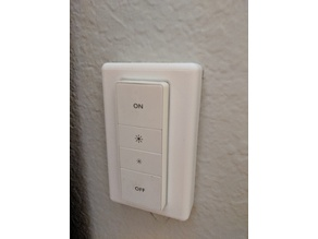 Philips Hue Dimmer switch plate cover US version