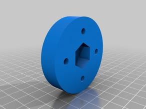 Spool holder for a Makergear M2 that will accommodate odd sized spools like MG chemical and Taulman 3D