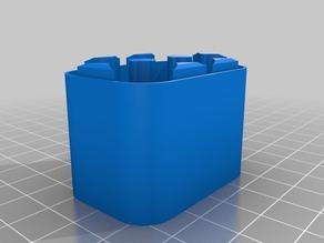 AA battery case
