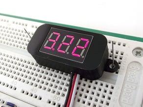 Mini Digital Volt Meter Case