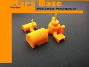 Realistic Mars Base
