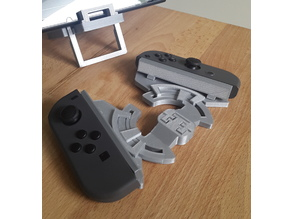 v2 Nintendo Switch 3-axis adjustable Joy-Con Grip - print in place