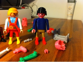 Printable and functional Playmobil