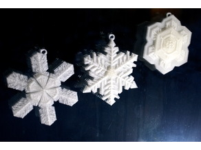 Bentley's Snowflake Ornaments