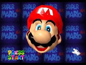 Super Mario 64 Mario Head