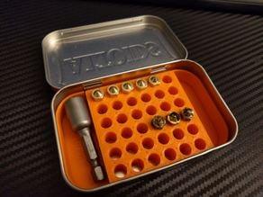 k014's Altoids nozzle container (36 nozzles)