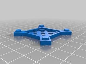 Lego drone base and motor holder