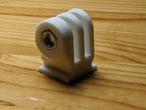 GoPro-hotshoe mount adapter