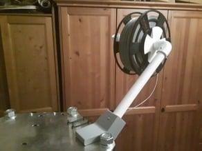 universal spool holder pvc