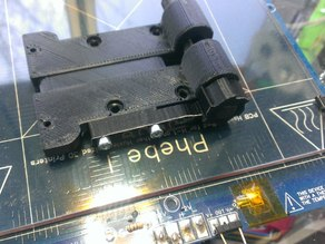 Customizable Belt Tensioner for 3D printer, Delta printer.