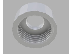 Cap for drain-plug leverage ball-joint