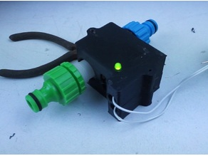 greenhouse watering valve case