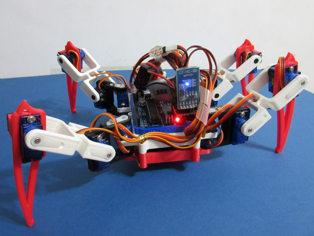 Spider robot quad quadruped by gsyan