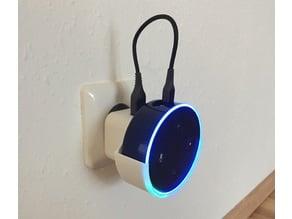 amazon echo dot power point holder