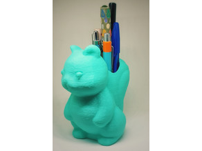 Squirrel Pen Holder