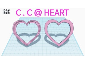 [1DAY_1CAD] COOKIE CUTTER @ HEART