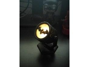 Batsignal (led candle compatible)