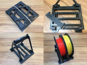 Collapsible Spool Holder