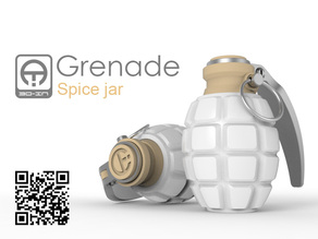 Grenade spice jar