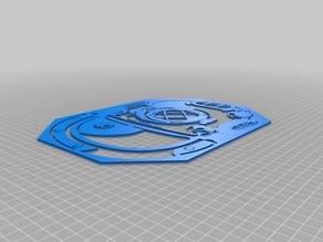 MK V Dive Helmet stencil