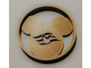 Disney Cruise Mickey Ornament